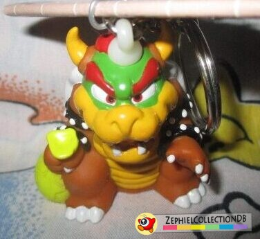 Mario Party 64 Bowser Figure Keychain