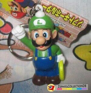 Mario Party 64 Luigi Figure Keychain