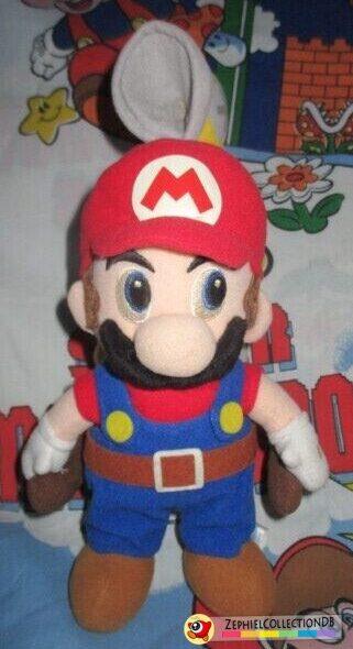 Super Mario Sunshine Medium Mario with Fludd Plush