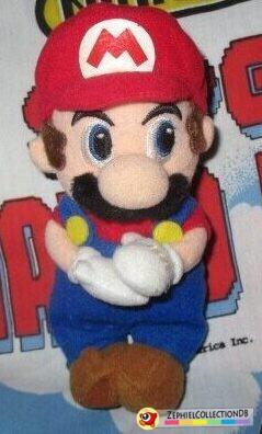 Super Mario Sunshine Mario Magnet Plush