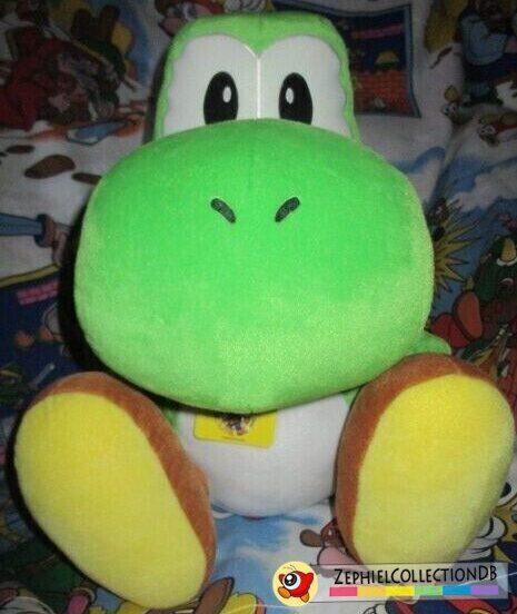 Super Mario Sunshine Large Yoshi Plush
