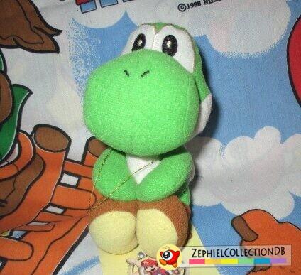 Super Mario Sunshine Yoshi Magnet Plush