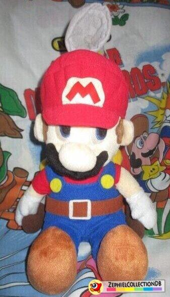 Super Mario Sunshine Large Mario with Fludd Plush