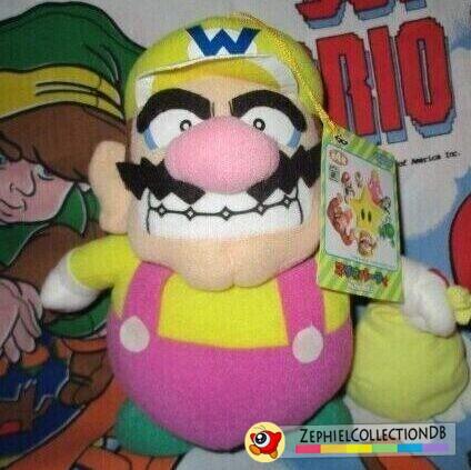 Mario Party Wario Plush