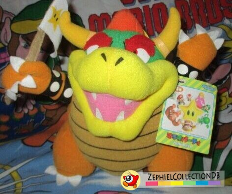 Mario Party Bowser Plush