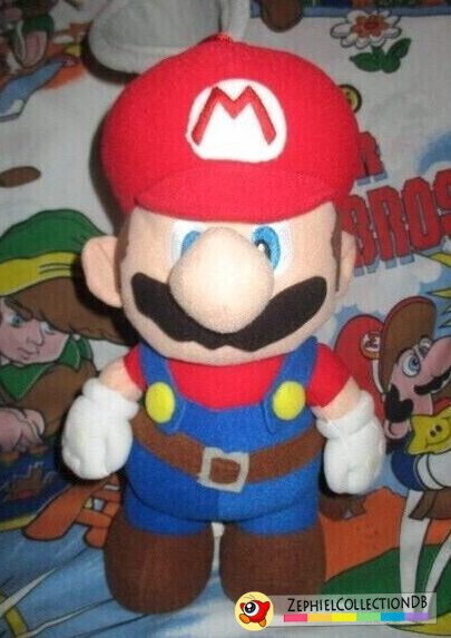 Super Mario Sunshine Mario with Fludd Plush