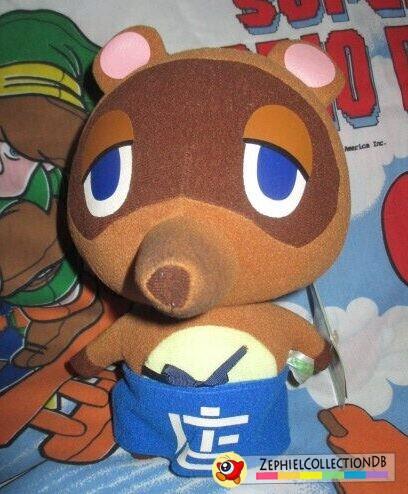 Animal Crossing Tom Nook Plush