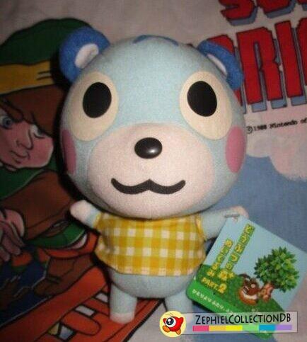 Animal Crossing Bluebear Plush