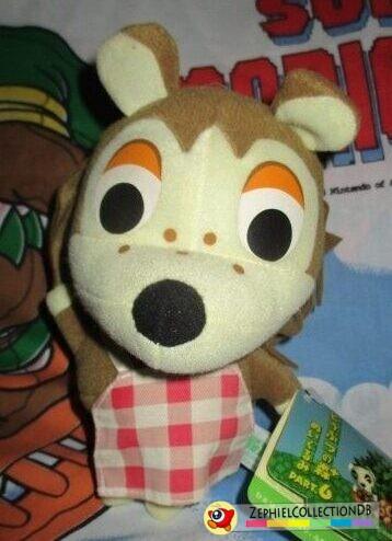 Animal Crossing Sable Plush