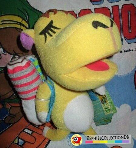 Animal Crossing Saharah Plush