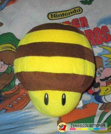 Super Mario Galaxy DX Bee Mushroom Plush