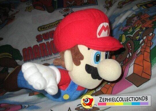 Super Mario Galaxy DX Flying Mario Plush