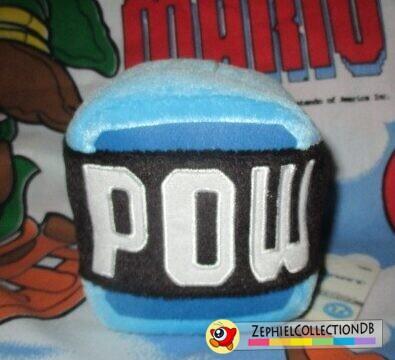 Mario Kart Wii POW Block Plush