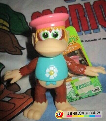 Donkey Kong Country Dixie Kong Figure