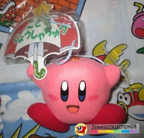 Parasol Kirby Plush (Anime)