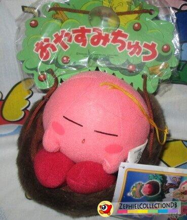 Sleep Kirby Plush (Anime)