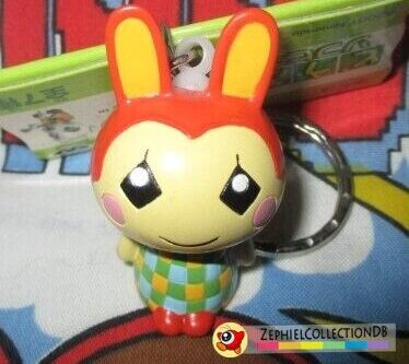 Animal Crossing Bunnie Figure Keychain