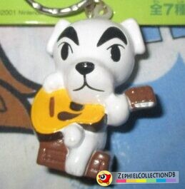 Animal Crossing K.K. Slider Figure Keychain