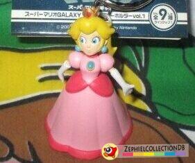Super Mario Galaxy Peach Figure Keychain
