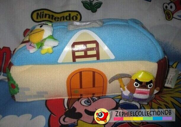 Animal Crossing Pete and Mr. Resetti Tissue Box Cover