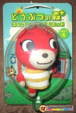 Animal Crossing Cheri Plush Keychain