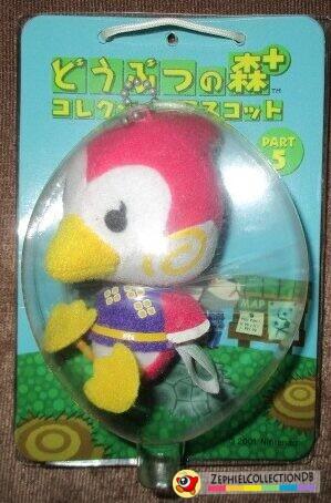 Animal Crossing Midge Plush Keychain