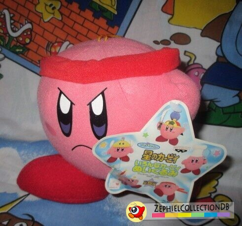 Fighter Kirby Plush Anime