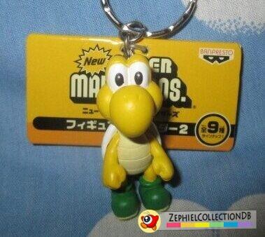 New Super Mario Bros. Koopa Troopa Figure Keychain