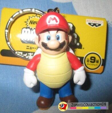 New Super Mario Bros. Shell Mario Figure Keychain