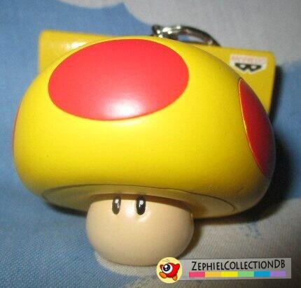 New Super Mario Bros. Mega Mushroom Figure Keychain