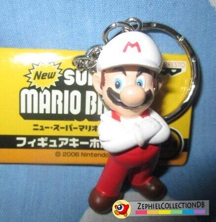 New Super Mario Bros. Fire Mario Figure Keychain