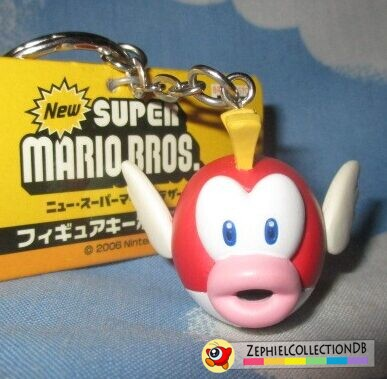 New Super Mario Bros. Cheep Cheep Figure Keychain