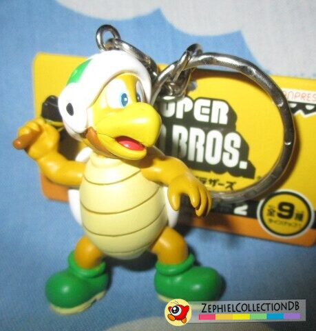 New Super Mario Bros. Hammer Bro Figure Keychain