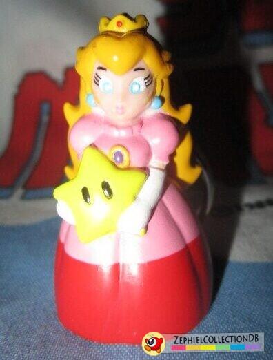 Mario Party 64 Peach Figure Keychain