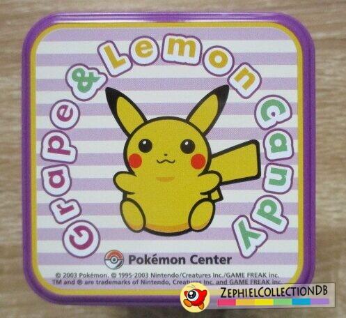 Pokemon Center Tin Top