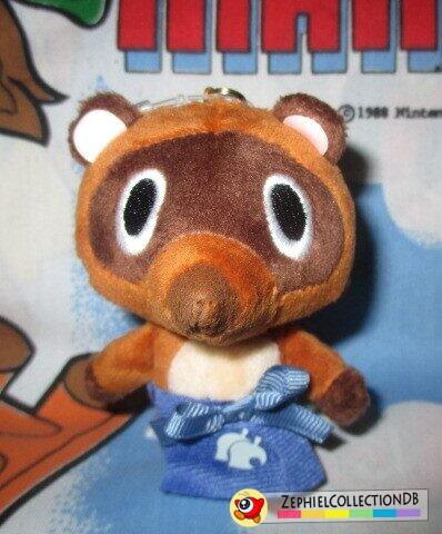 Animal Crossing Timmy/Tommy Plush Keychain